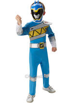 Child Dino Charge Blue Power Ranger Deluxe Costume
