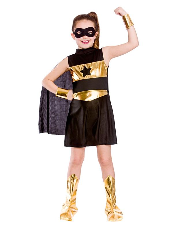 Child Black Super Hero Costume