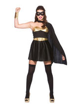 Black Gold Hot Super Hero Costume