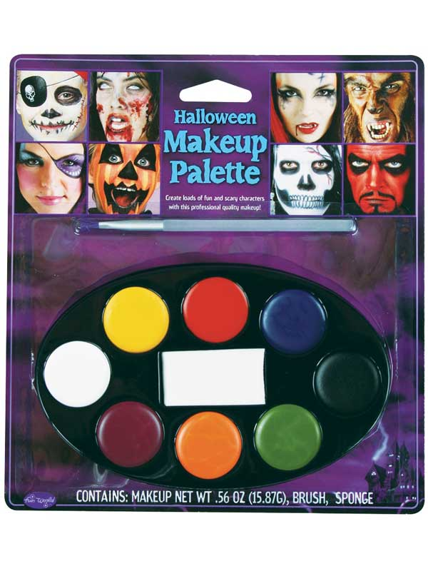 8 Colour Halloween Makeup Palette