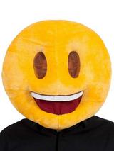 Adult Fabric Overhead Emoticon Smiling Face