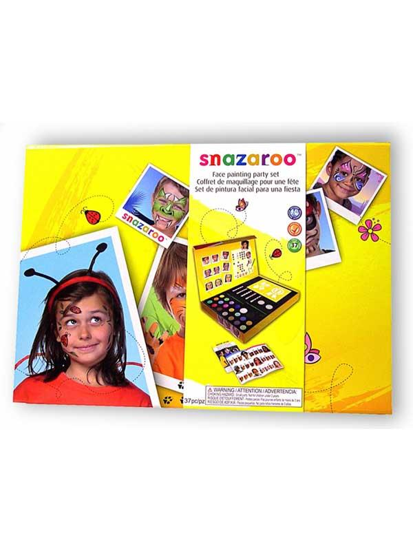 Snazaroo Large Facepainting Face Paints Painting Party Kit Complete Gift Set Thumbnail 2
