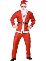 Budget Santa Claus Suit Costume