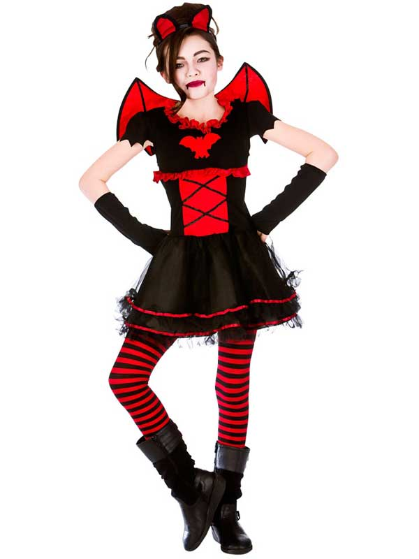 Child Girls Little Vamparina Costume