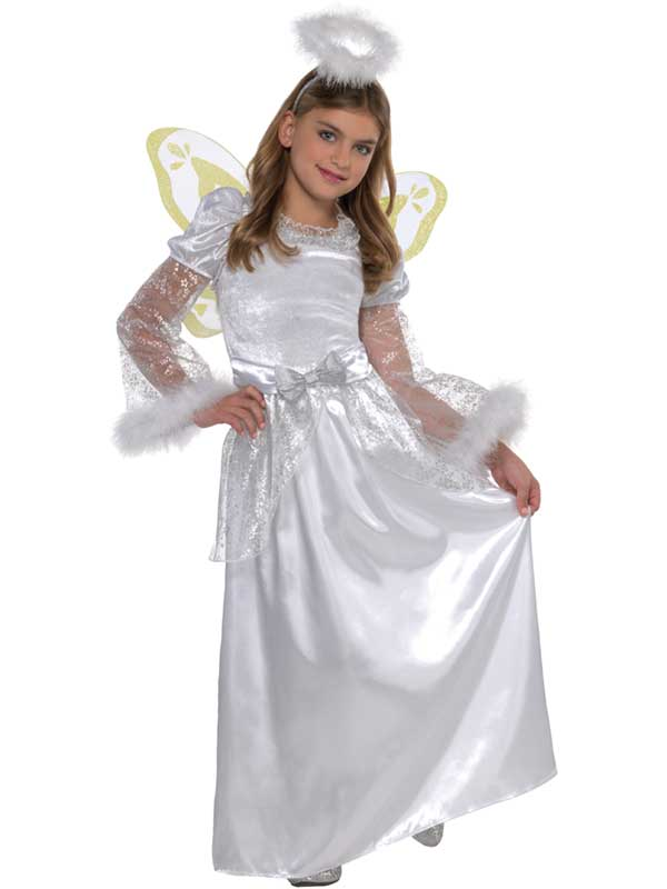 Deluxe White Angel Costume