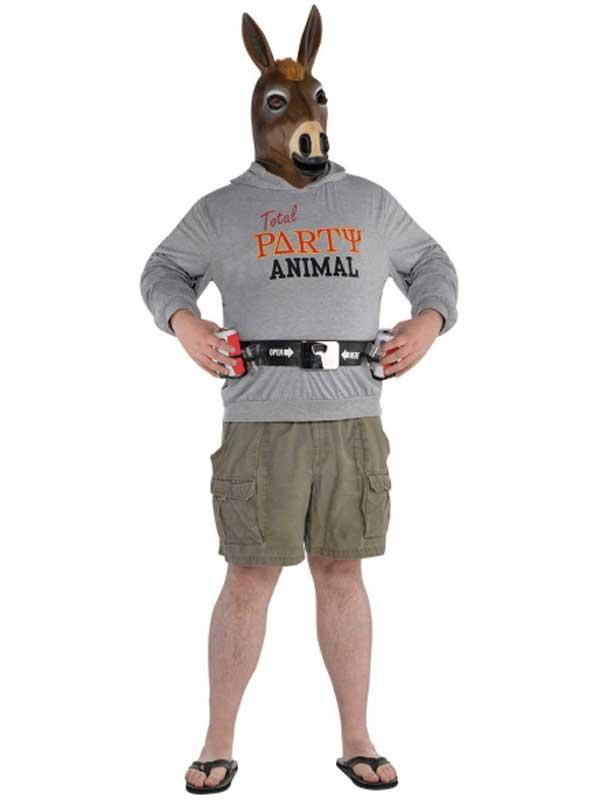 Party Jackass Costume Thumbnail 3
