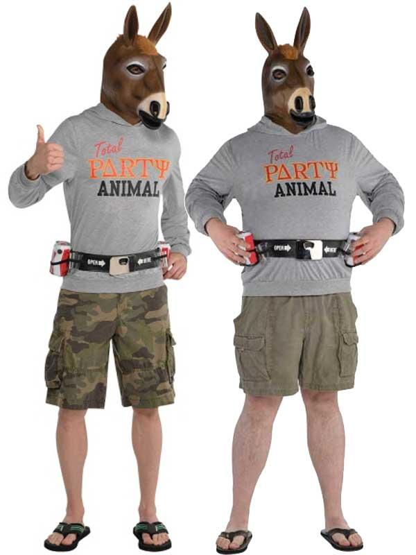 Party Jackass Costume Thumbnail 1