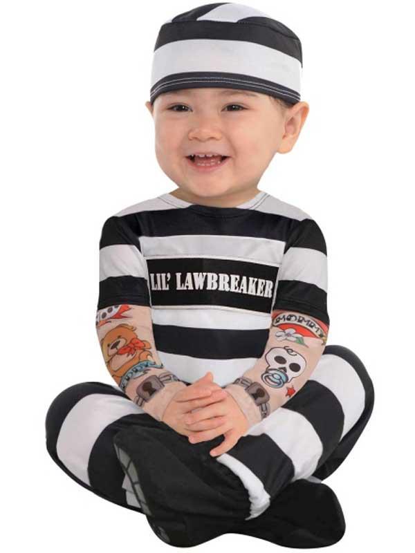 Child Lil' Law Breaker Costume