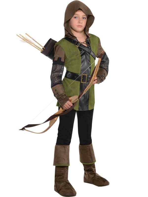 Enfant-garcons-teen-prince-des-voleurs-robin-hood-fancy-dress-costume-livre-jour-kids