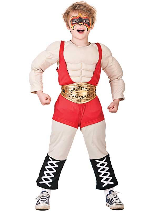 Child Wrestler Costume