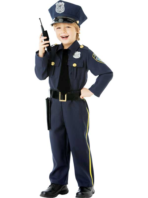 Child Police Officer Costume  sc 1 st  Plymouth Fancy Dress & Child Police Officer Costume | Cops u0026 Robbers | Plymouth Fancy Dress ...