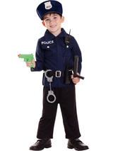 Child Police Role Play Set Costume