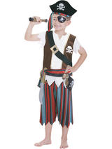 Child Pirate Role Play Set Costume