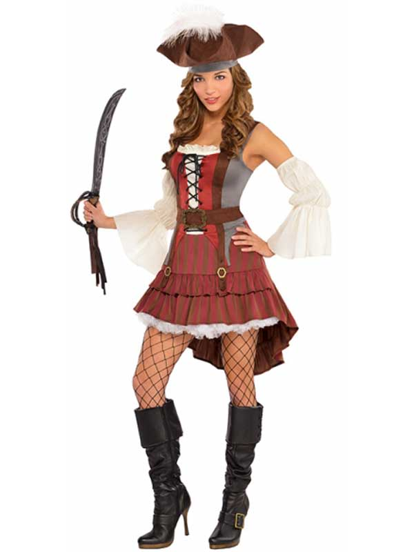Castaway Pirate Costume