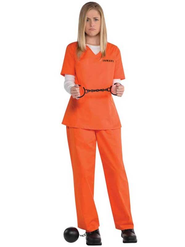Orange Inmate Costume