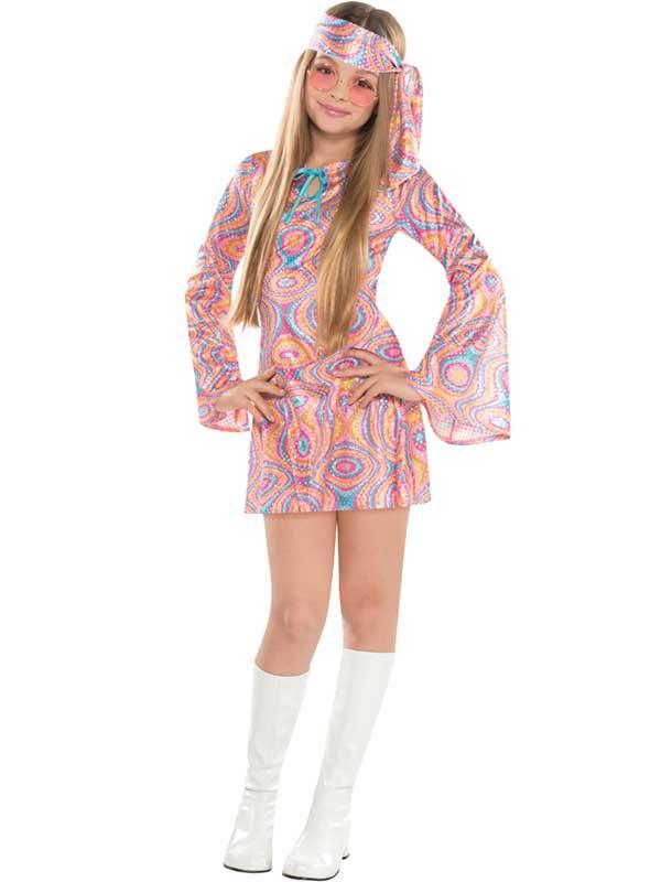 Child Disco Diva Costume