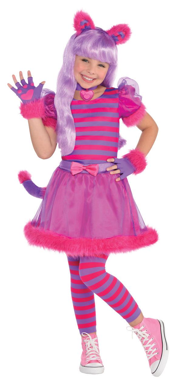 Child Cheshire Cat Costume Thumbnail 2