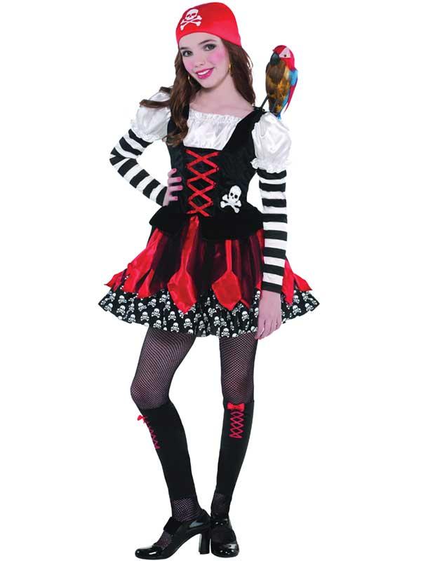 Crossbone Cutie Pirate Child Costume