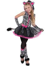 Child Girls Sassy Stripes Costume