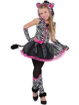 Child Girls Sassy Stripes Costume