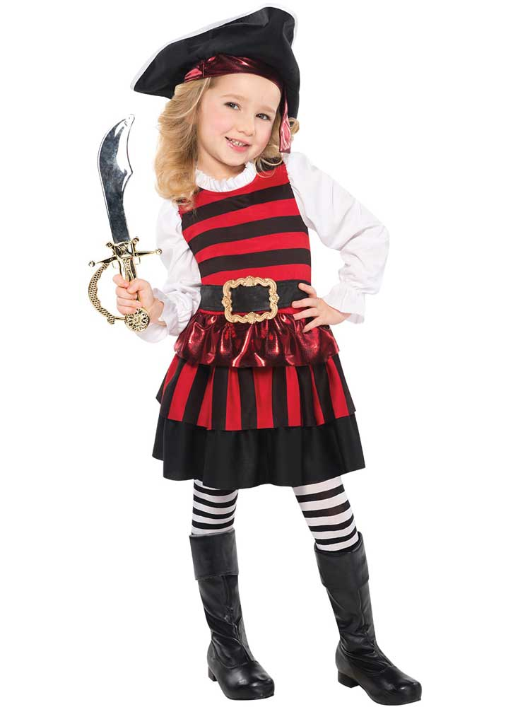 Child Little Lass Pirate Costume
