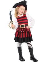 Child Little Lass Pirate Costume