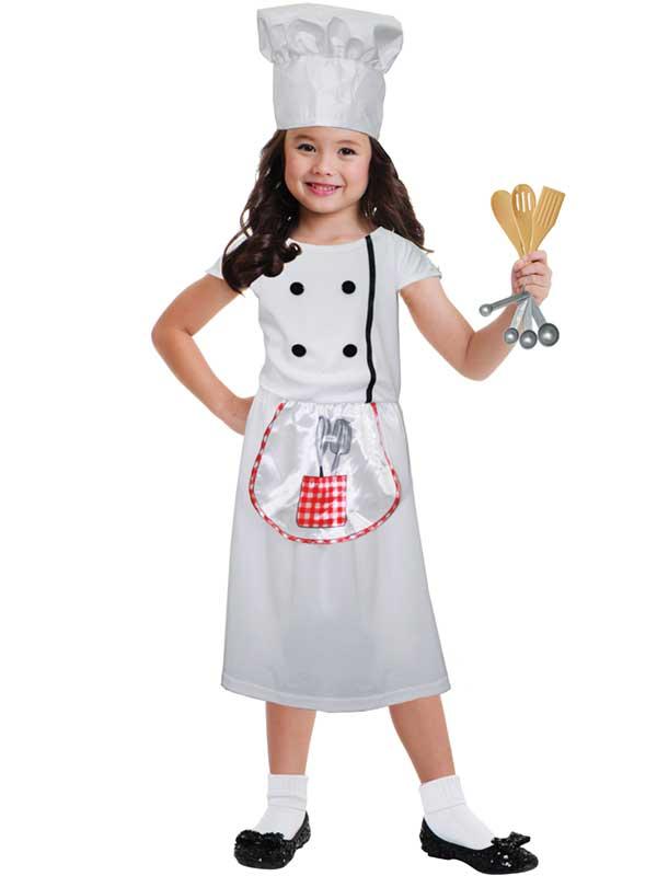 Child Chef Role Play Set Costume