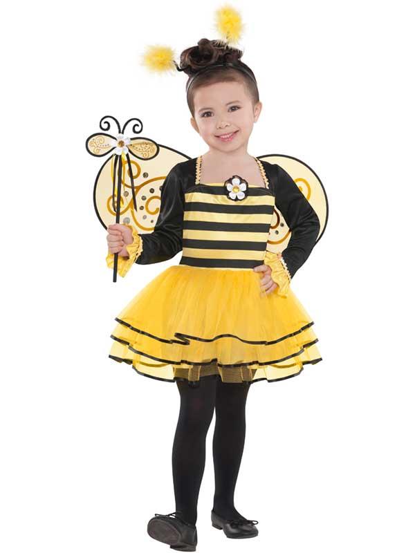 Child Ballerina Bee Costume