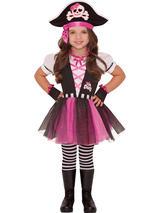 Child Girls Dazzling Pirate Costume