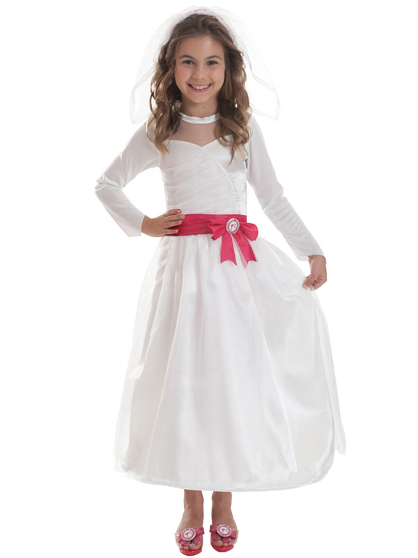 Child Bride Barbie Costume