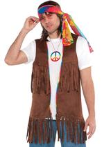 Adult Long Hippie Vest