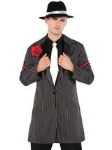 Mens 20s Gangster Zoot Suit Jacket