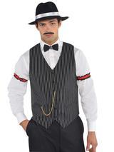 Mens Roaring 20s Gangster Vest
