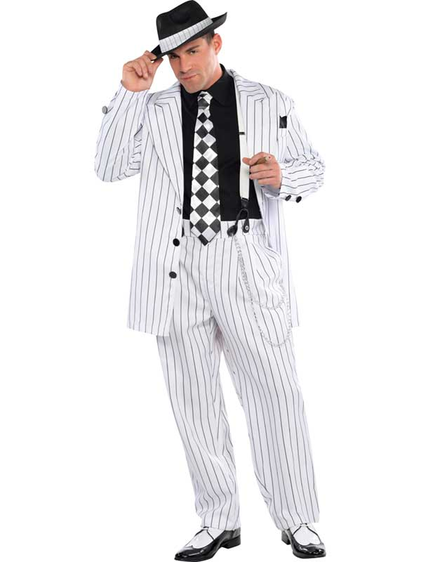 Pinstripe Daddy Costume