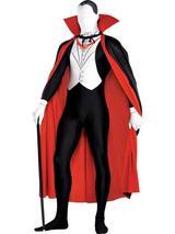 Vampire Partysuit Costume With Cape
