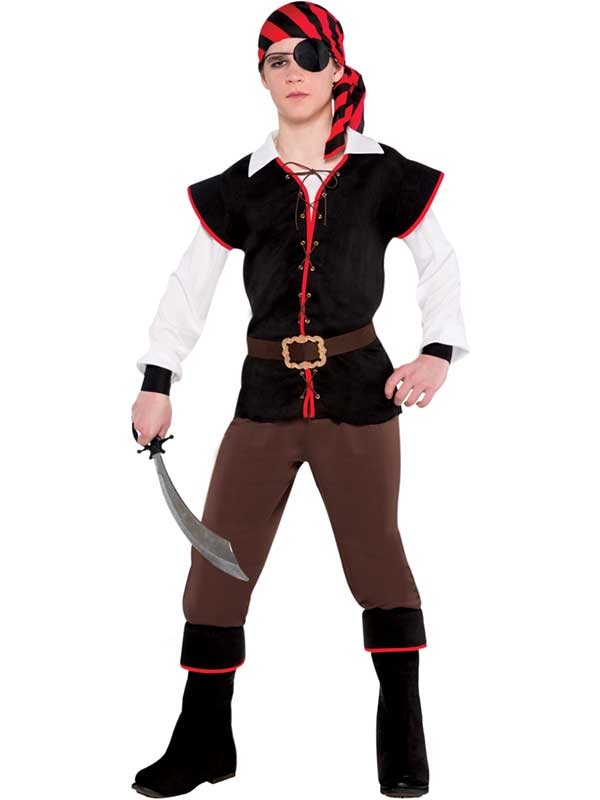 Child Boys Rebel Of The Sea Costume