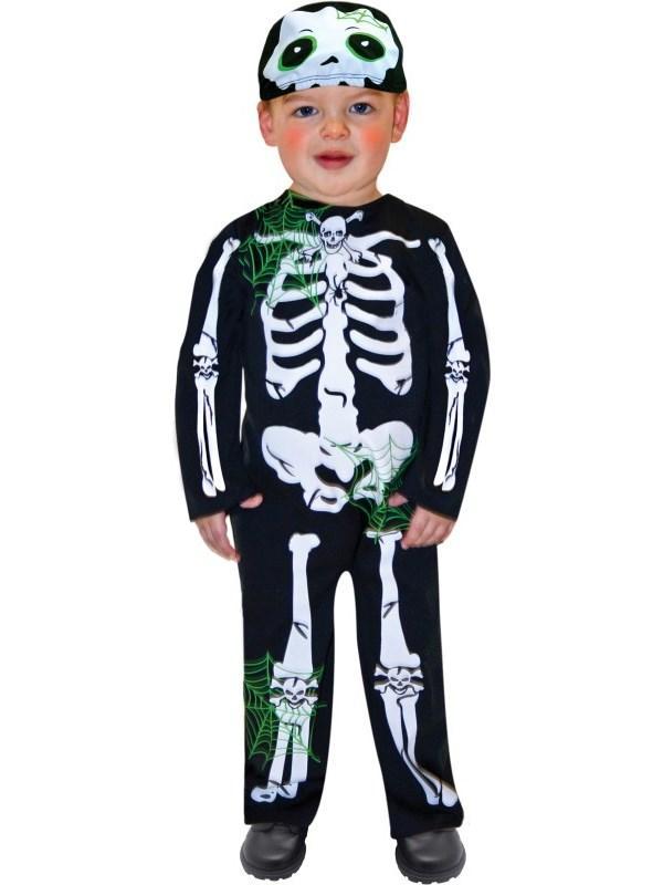 Child Boys Skeleton Costume