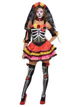 Day Of The Dead Señorita Costume
