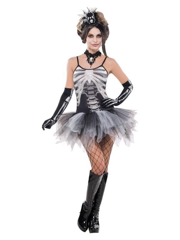 Black And Bone Costume Dress