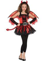 Child Girls Daredevil Costume