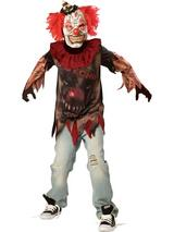Child Boys Sideshow Clown Costume