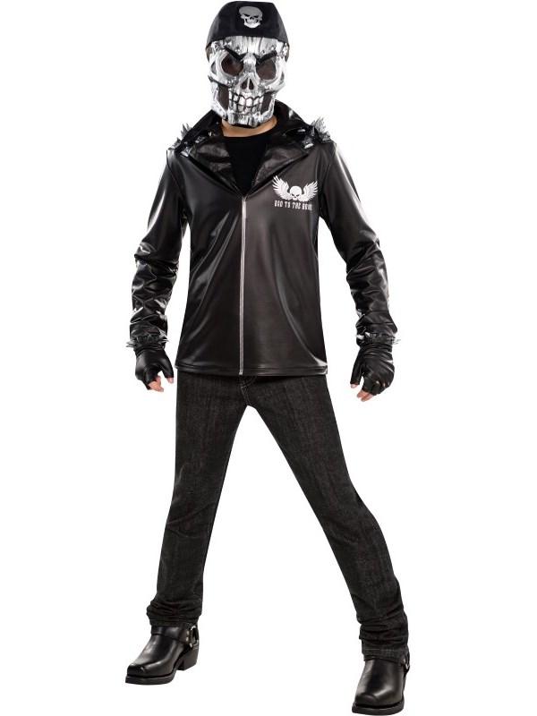 Child Boys Bad To The Bone Costume