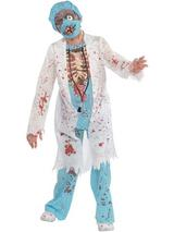 Child Boys Zombie Md Costume