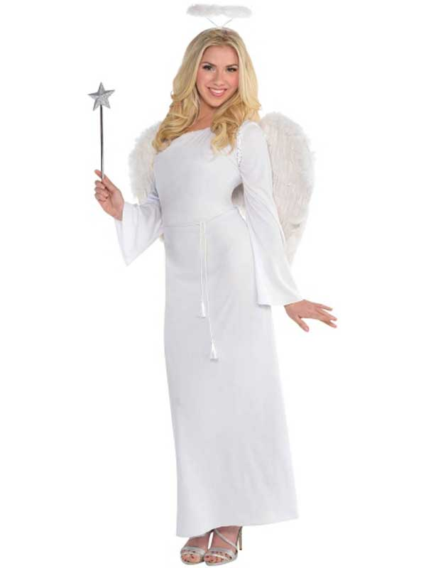 Adult Ladies Christmas Angel Gabriel Heaven Sent Nativity Fancy