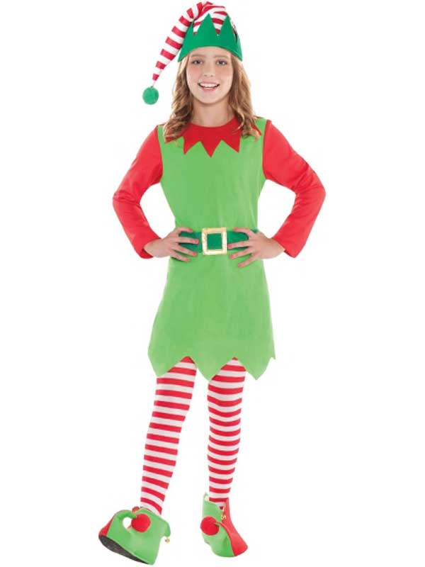 Child Merry Elf Costume