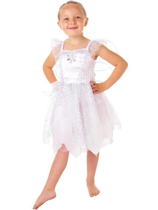 Child White Fairy Costume