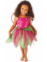 Child Girls Mulberry Fairy Costume