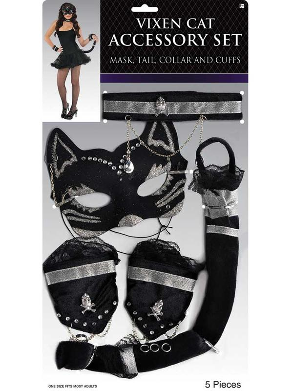 Adult Vixen Cat Accessory Set Thumbnail 2