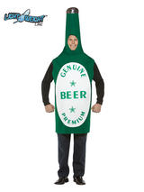 Men's Beer Bottle Costume