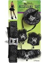 Ladies Witch's Accessory Kit